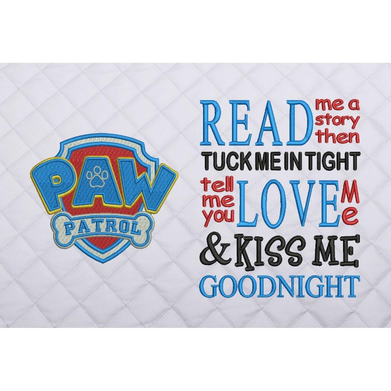 logo paw patrol read me a story