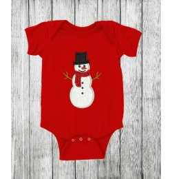 snowman applique embroidery design