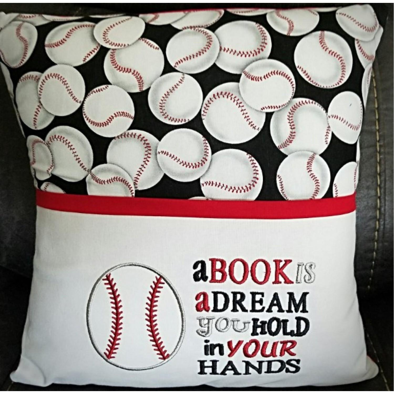 Baseball a book is a dream