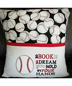 Baseball a book is a dream