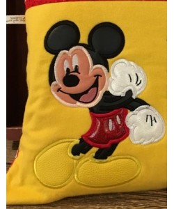 Mickey Mouse applique embroidery design