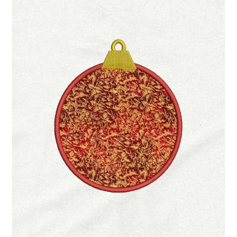 Christmas ornament applique