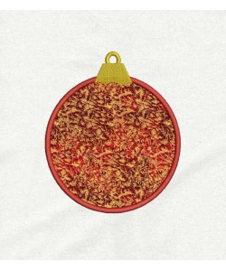 Christmas ornament applique