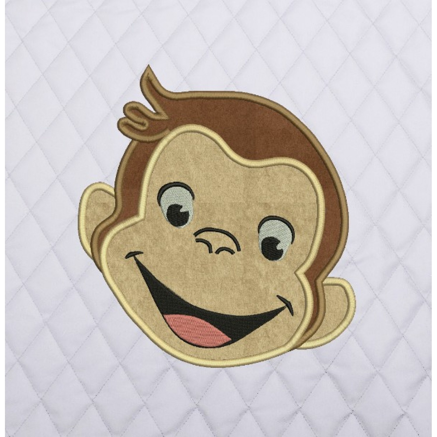 face monkey applique
