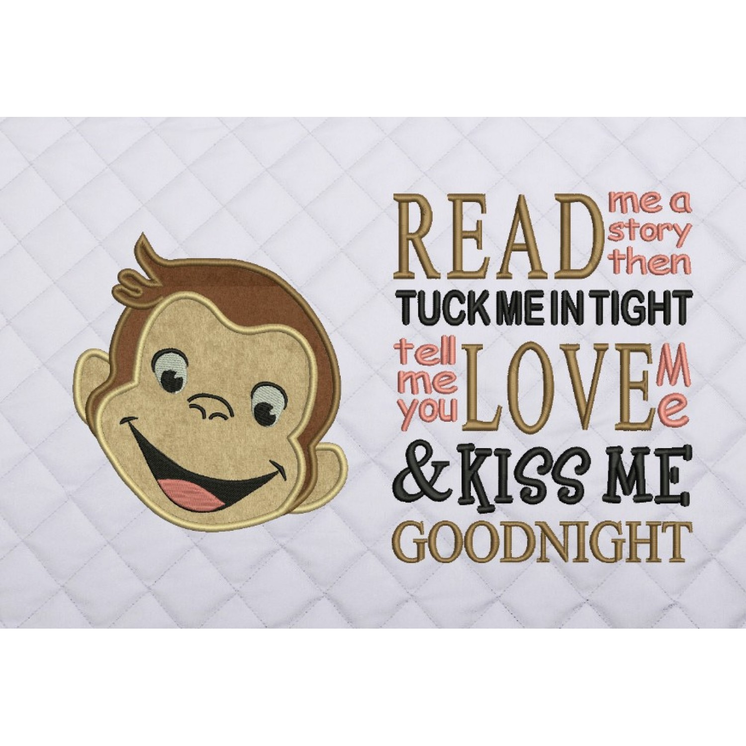 face monkey with read me a story