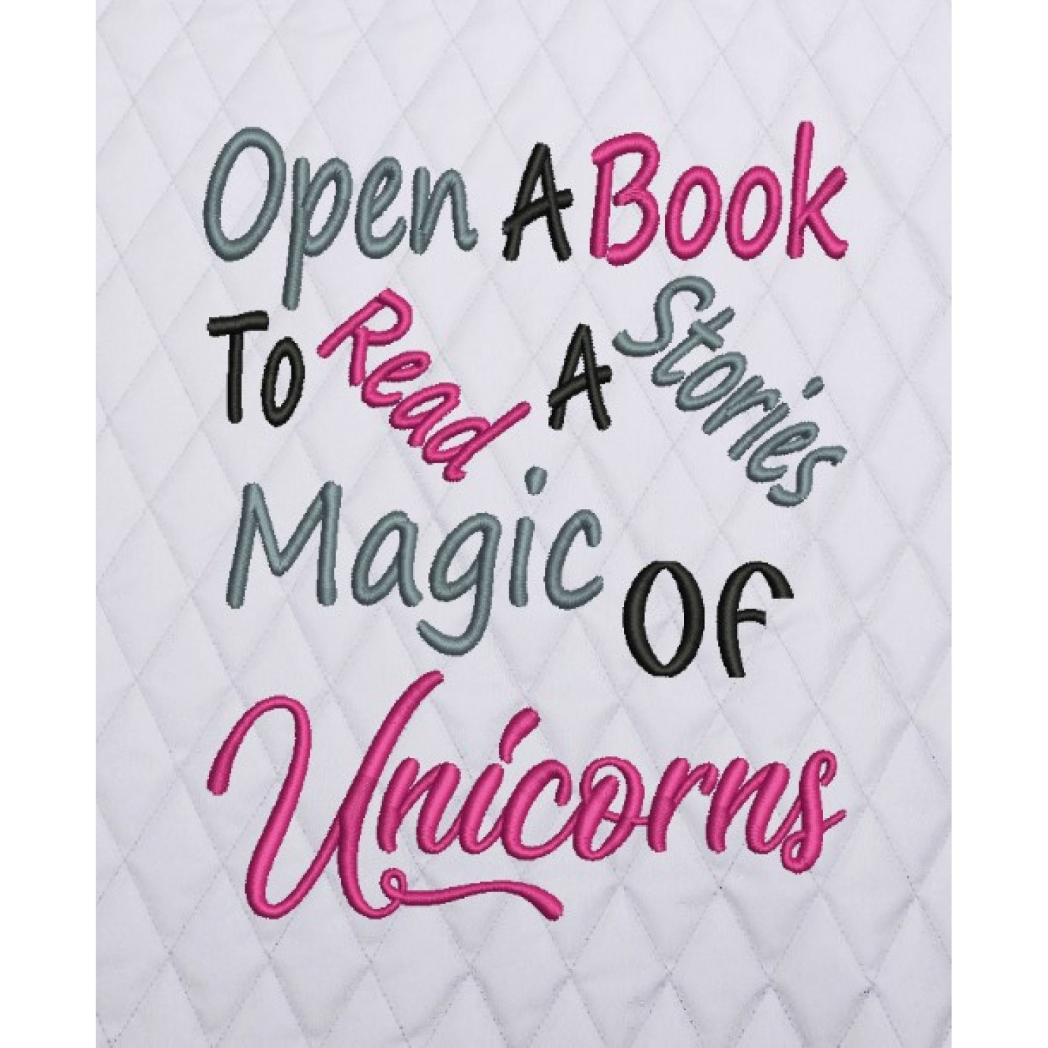 open a book to read