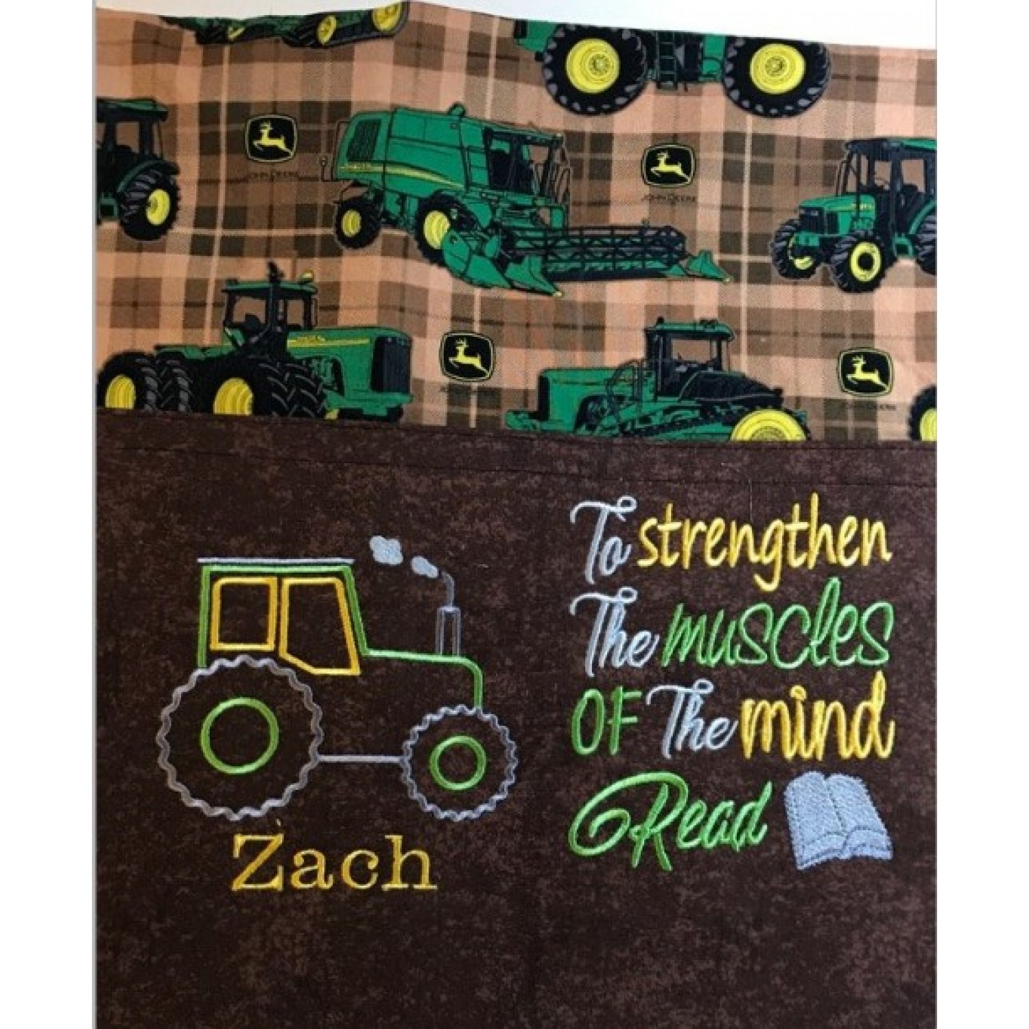 tractor applique with to strengthen