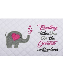 Elephant Hearts with reading takes you