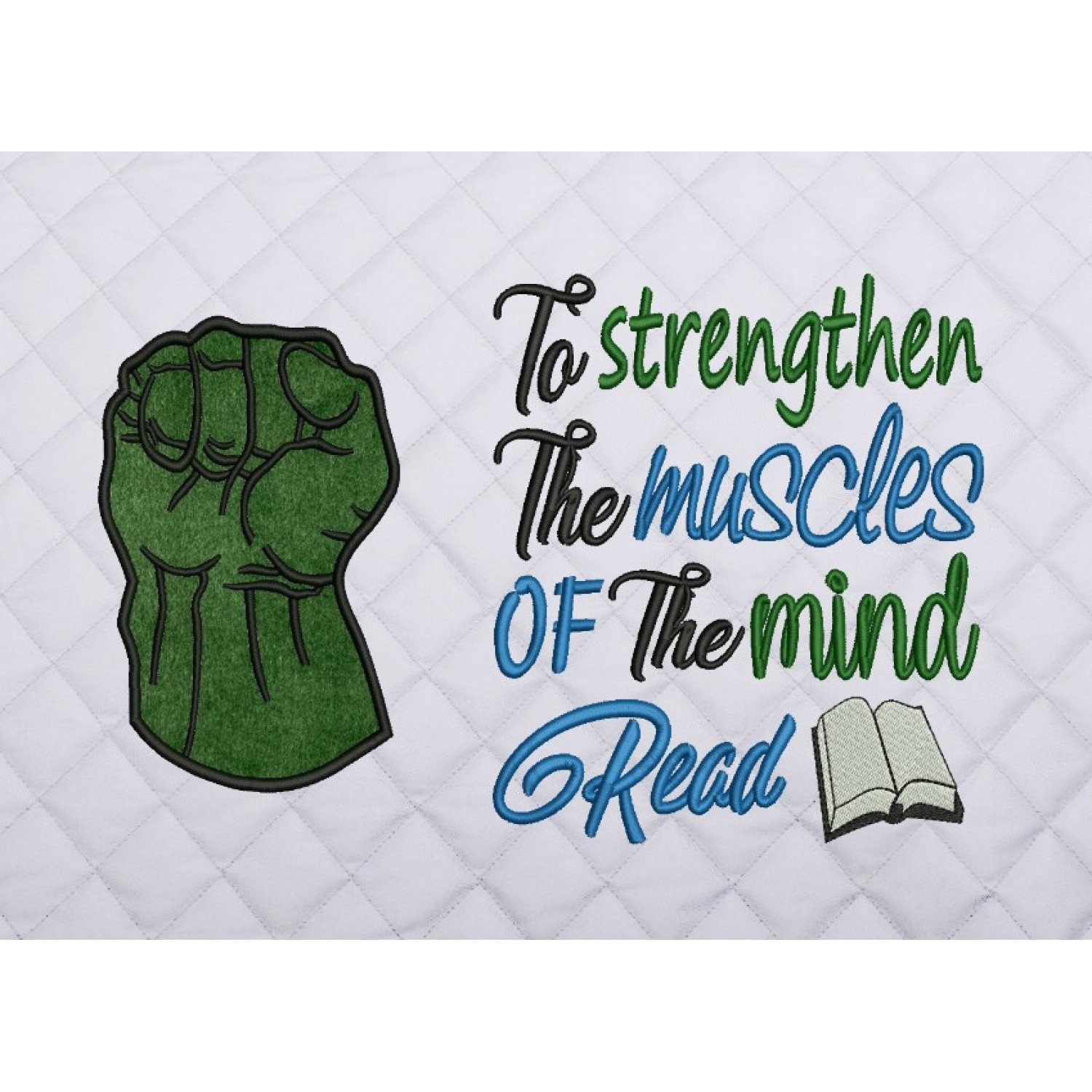 Hulk Fist applique with to strengthen