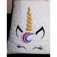 unicorn jeune embroidery design