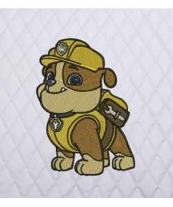 Rubble Paw Patrol embroidery
