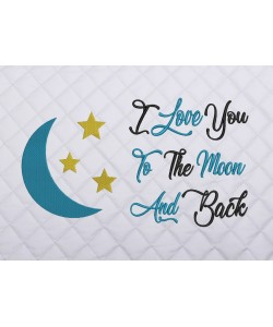 moon and stars I Love You to the Moon