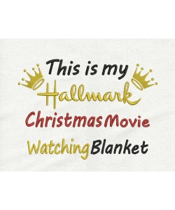 this is my hallmark blanket v2 embroidery