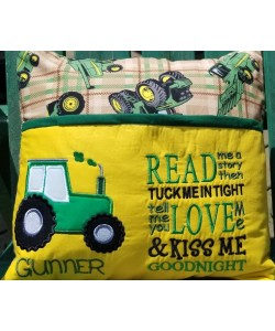 tractor with read me a story