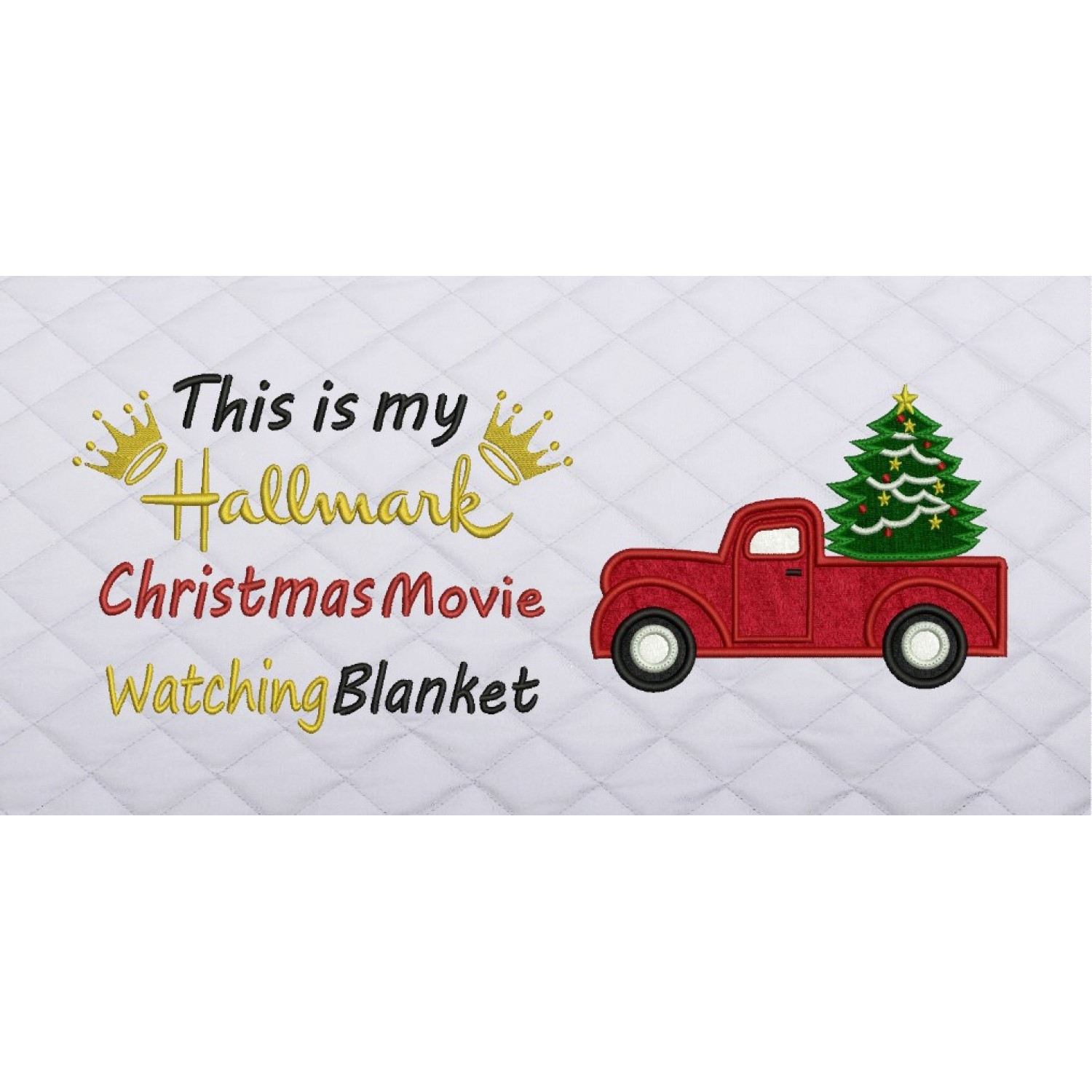 Christmas Truck with this is my hallmark