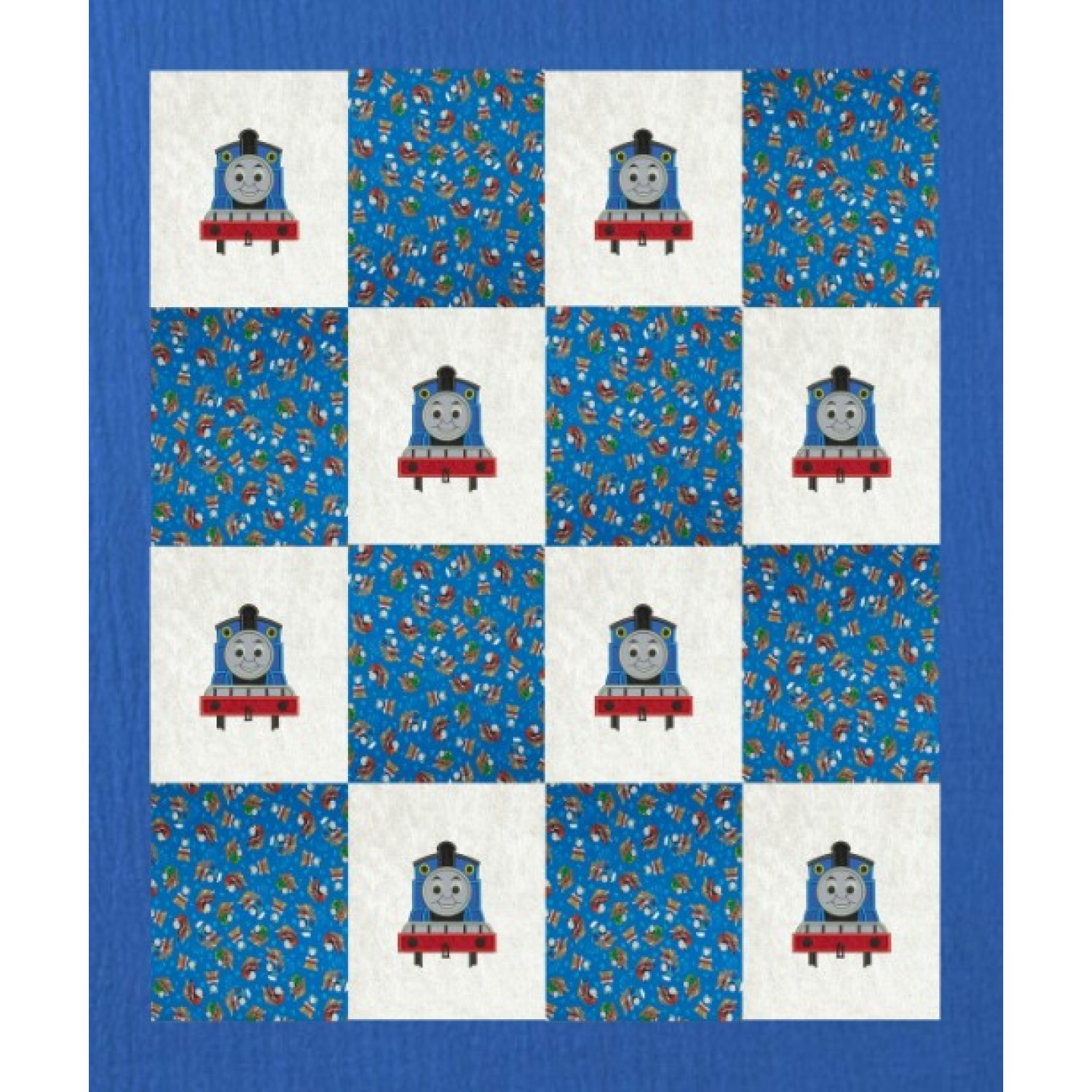 thomas the train applique design embroidery