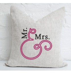 Mr and Mrs embroidery