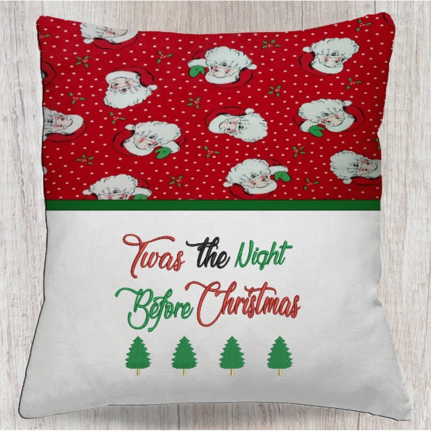 Twas the Night Before Christmas embroidery