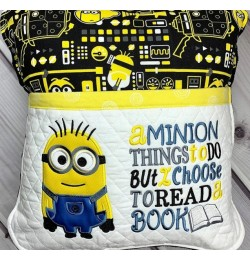 bob minion applique with a minion things