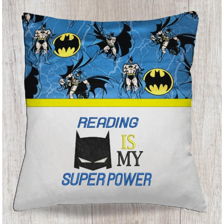 reading is my super power batman
