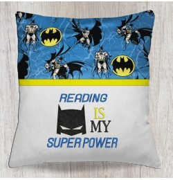 reading is my super power batman