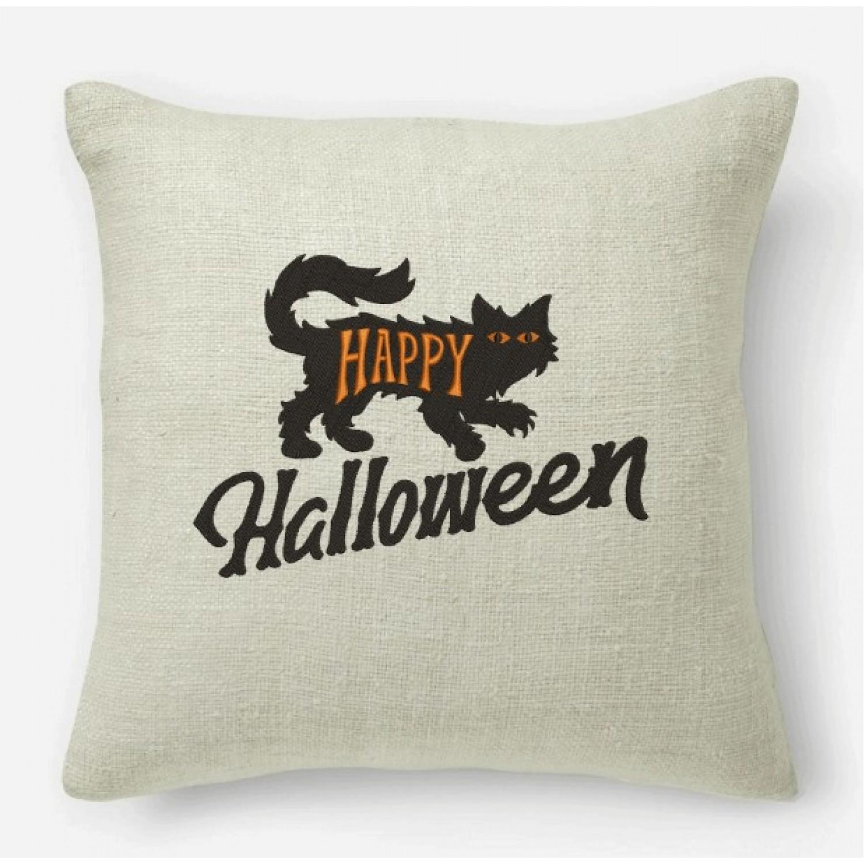 Happy Halloween embroidery