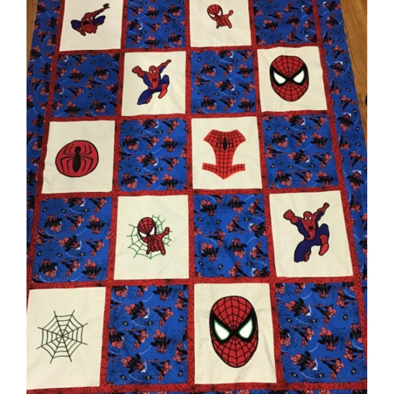 spiderman quilt set 9 designs