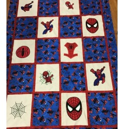 spiderman quilt set 9 designs