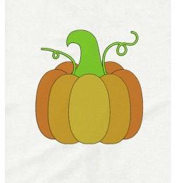 Pumpkin vert embroidery