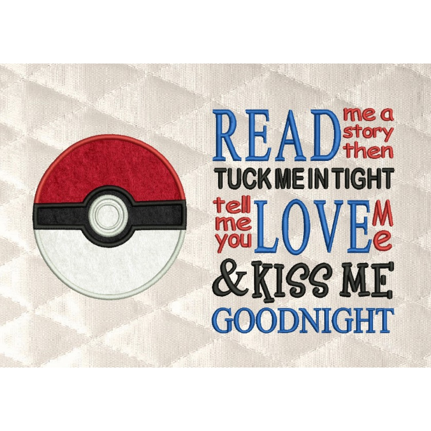 pokeball pokemon with read me a story