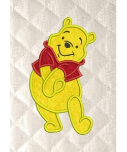 pooh applique