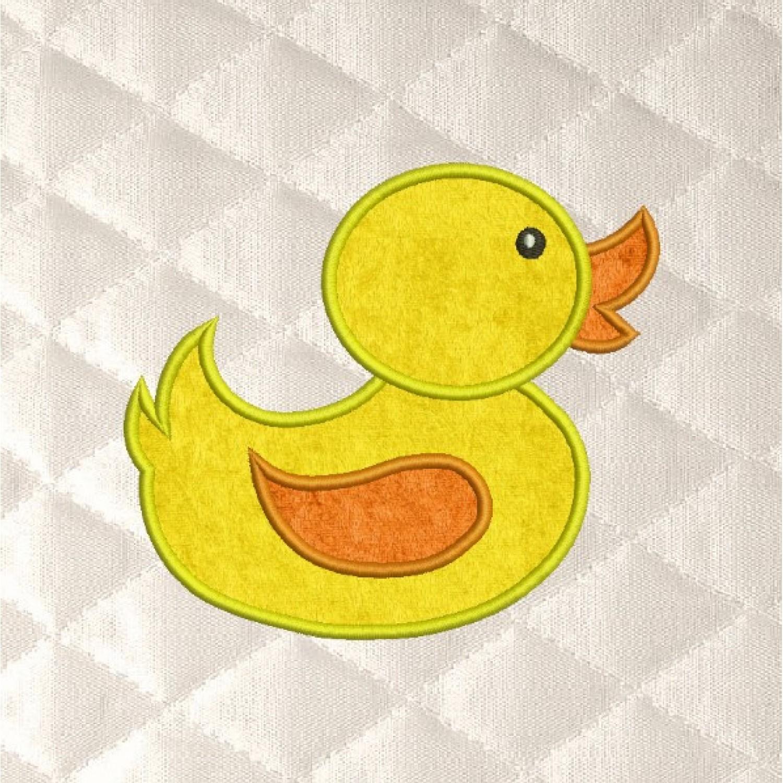 baby duck applique