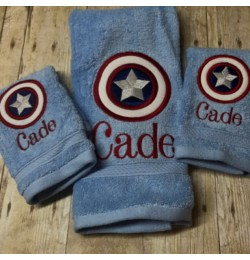 captain america applique