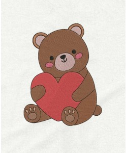 Bear Valentines Day