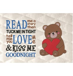 Bear Valentines Day with read me a story