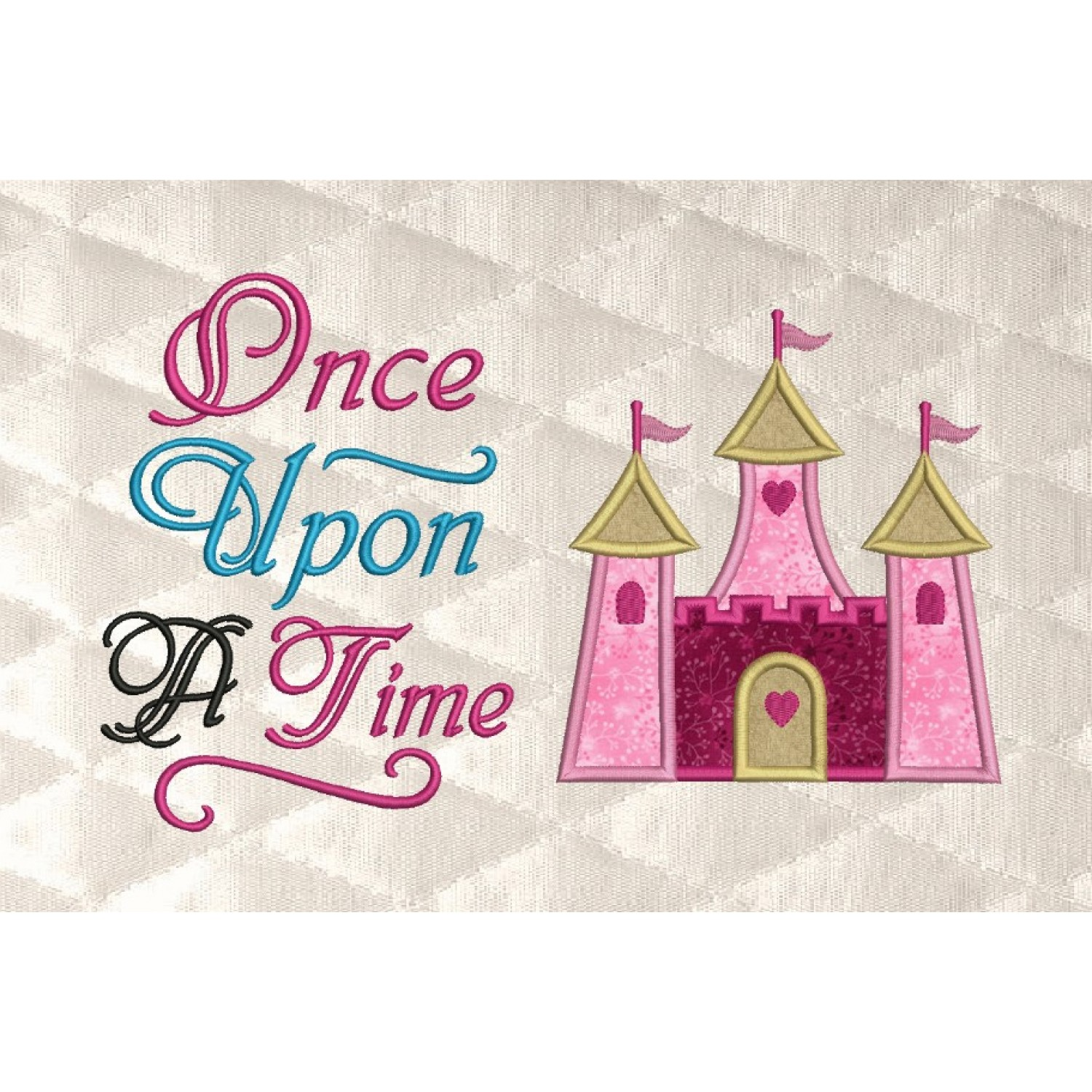 Castle princess with once upon