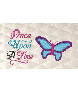 butterfly with once upon