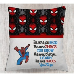spiderman with the more you read
