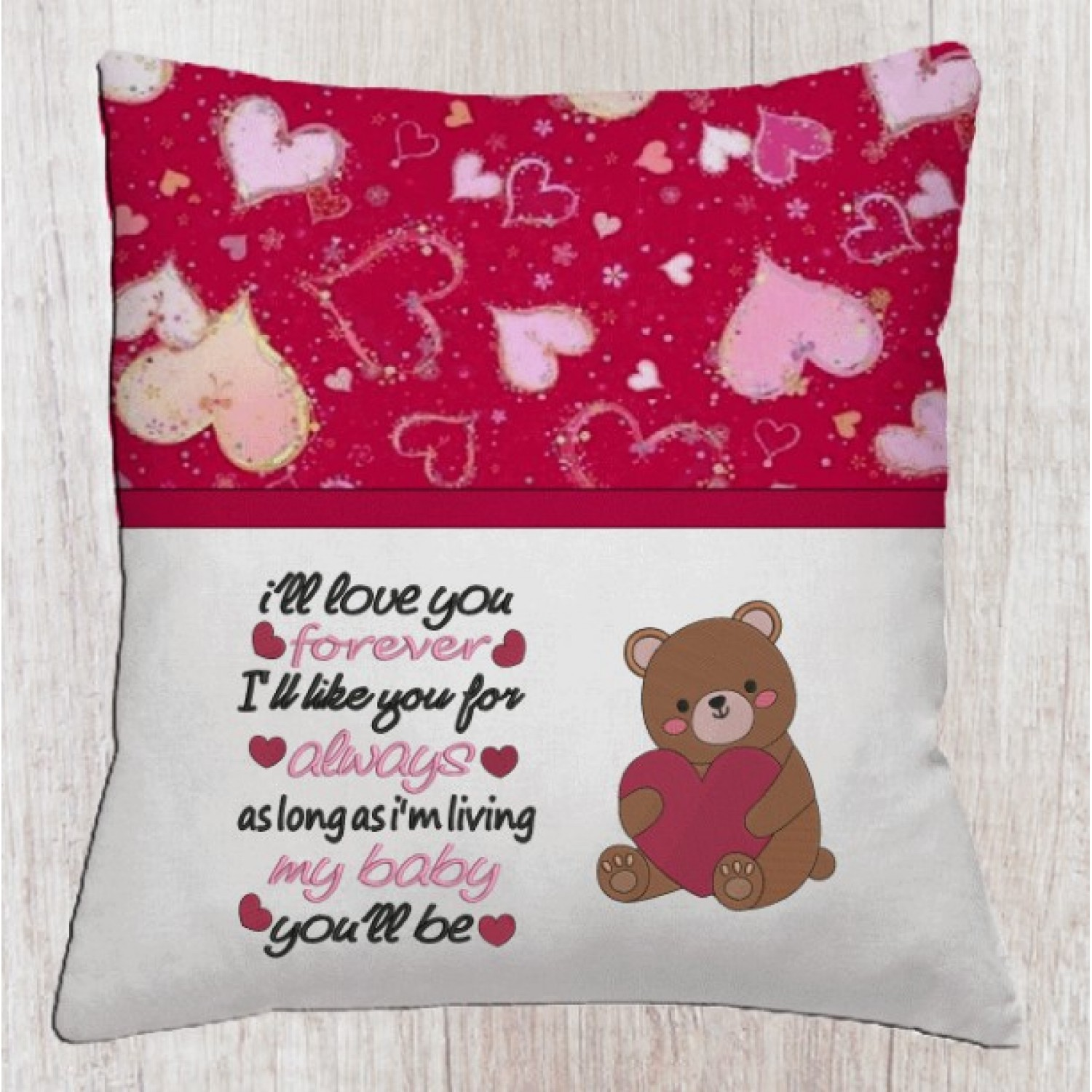 Bear Valentines Day with Ill Love You Baby