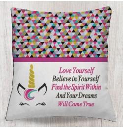 unicorn jeune with Love yourself