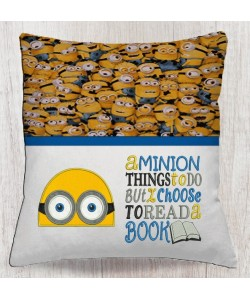 minion face with a minion things