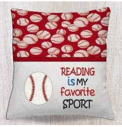 Baseball with reading is my favorite sport