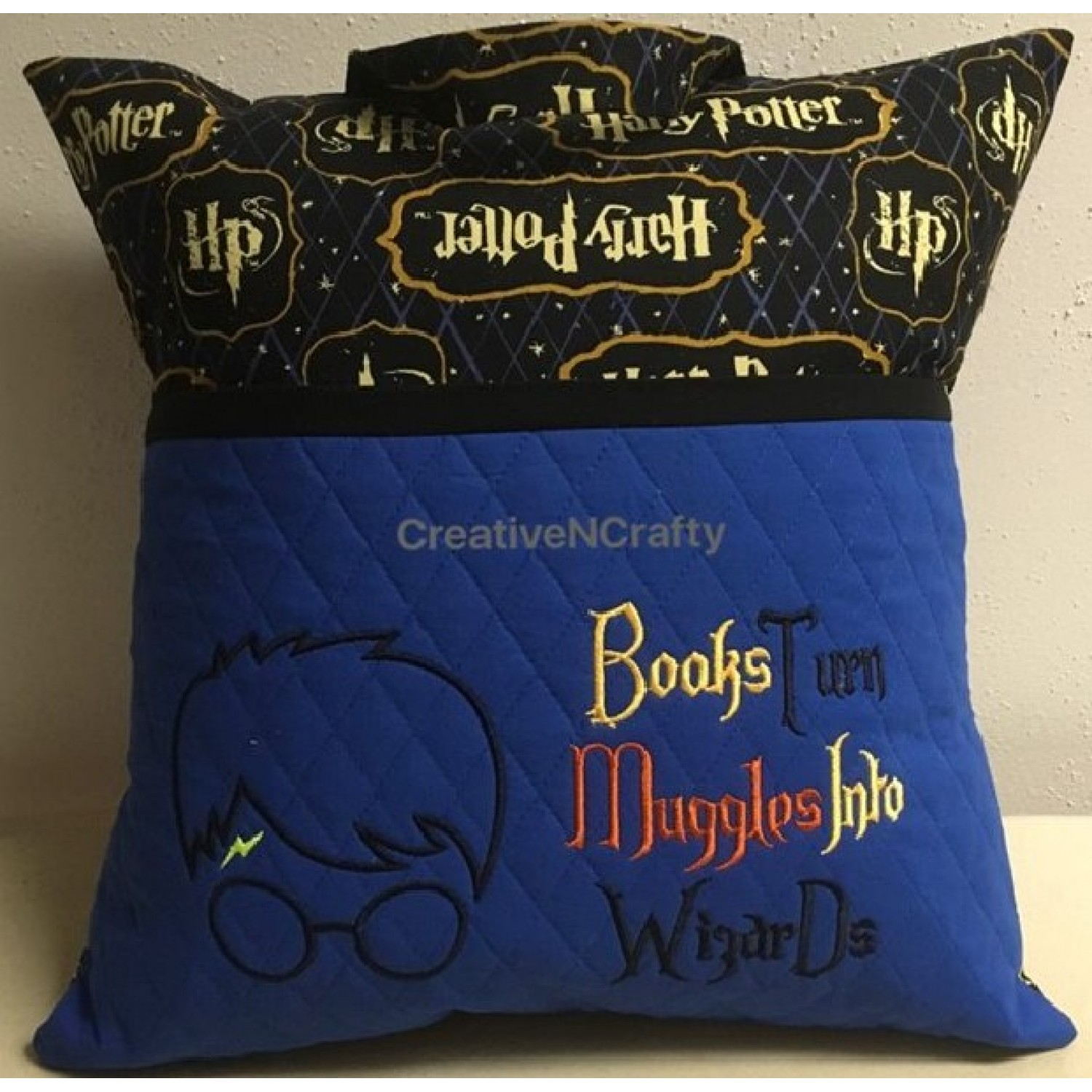 Harry Potter with Books Turn