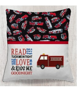fire truck with read me a story