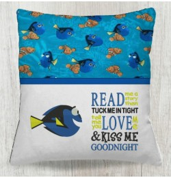 Dory fish with Read me a story