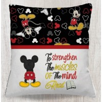 mickey mouse behind with to strengthen