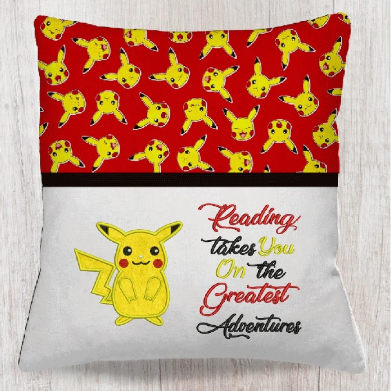Pokemon Pikachu with reading takes you