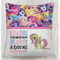 Fluttershy my little pony with read me a story