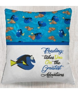 Dory fish with reading takes you