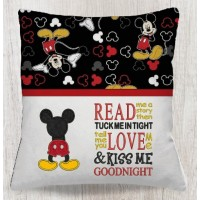 mickey mouse behind with read me a story